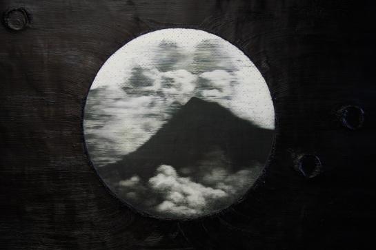 Merapi volcano detail